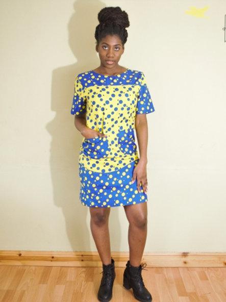 FOLKSHELF Dot Dress