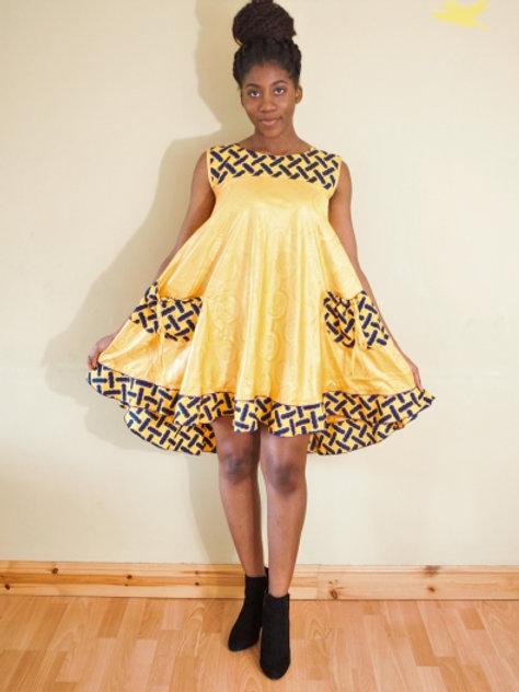 FOLKSHELF Jax Flared Dress
