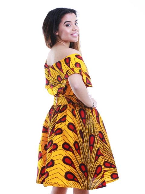 FOLKSHELF African Print Fiona Skirt