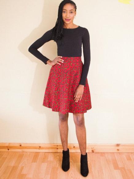 FOLKSHELF Nina A-line Skirt Co-Ord