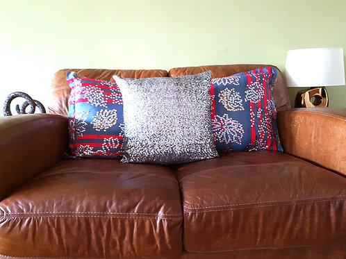 LESODA Mixed Print 3 Cushions & 3 Covers