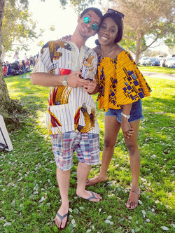 African print summer fashion