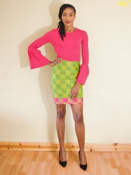 FOLKSHELF Box Skirt Co-Ord