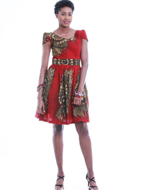 FOLKSHELF Lucy Skater Dress