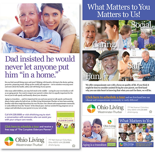 Assisted Living – Adult Child Campaign
