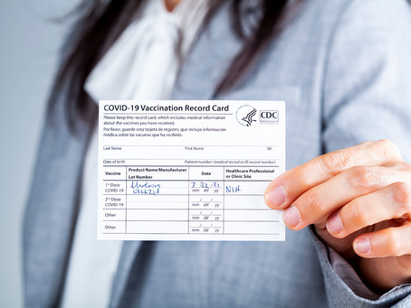 What you need to know about your vaccine card