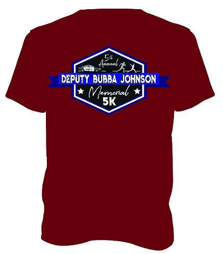 2018 Deputy Bubba Johnson Memorial 5K T-Shirt