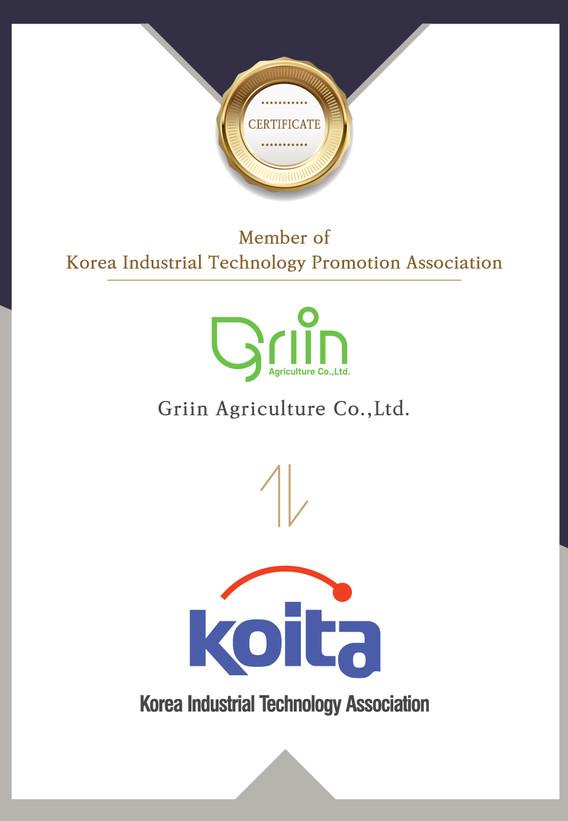 Member of Korea Industrial Technology Promotion Association