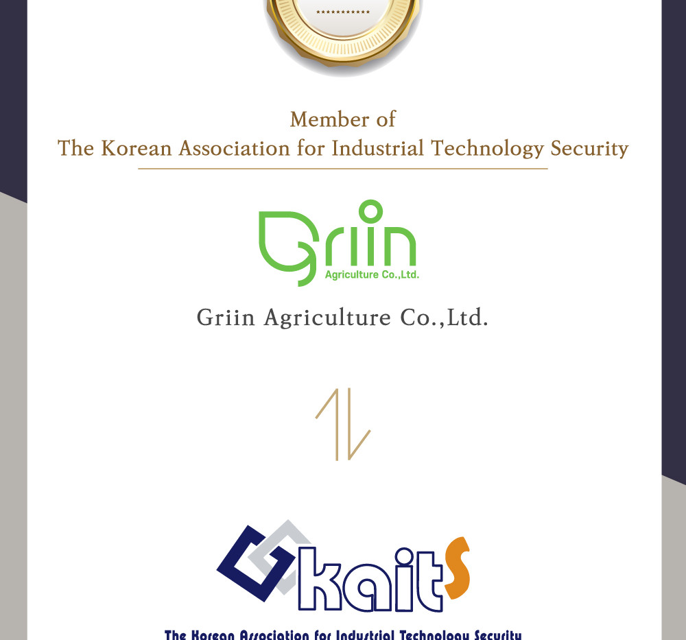 Member of The Korean Association for Industrial Technology Security