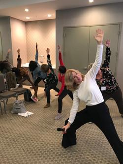 Yoga break!