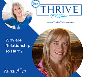 THRIVE TV - with Lauren Parsons  Karen A