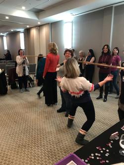 """Raising the bar"" transformational exercise!"