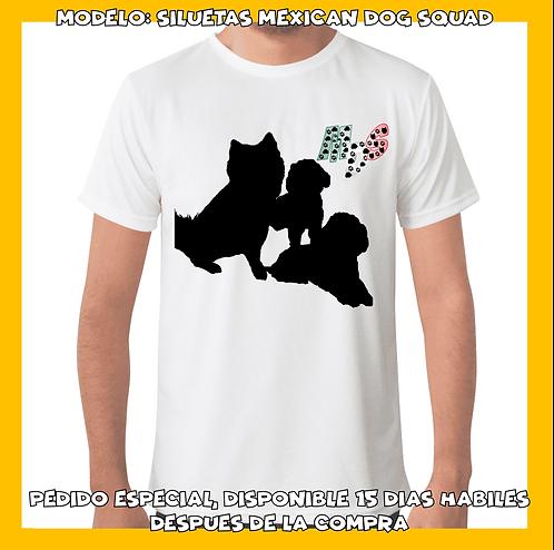 Mexican Dog Squad Siluetas