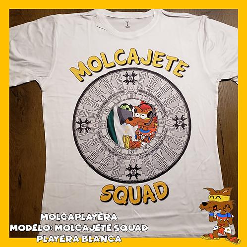 Playera Molcajete Squad
