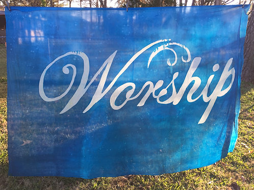 Worship  new size 36x50