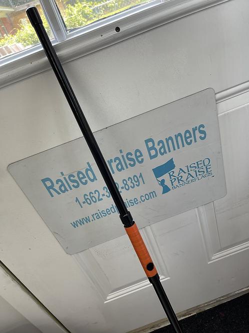 Swivel add on for fiberglass poles
