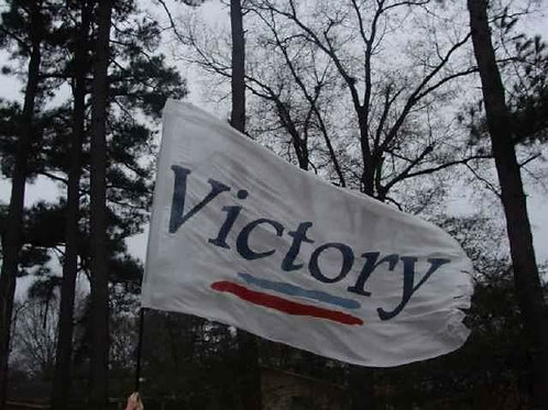 Victory polyester banner regular 128.
