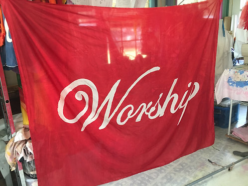 Worship bannerflag