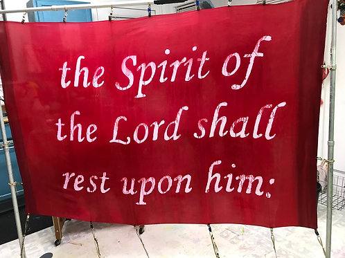 The Spirit of the Lord shall rest on him: