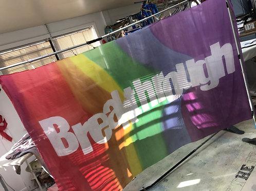 Breakthrough bannerflag