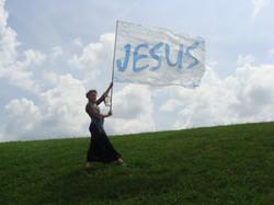 Jesus bannerflag