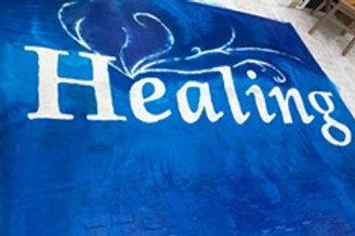 Healing Banner- Silk 55 x 75