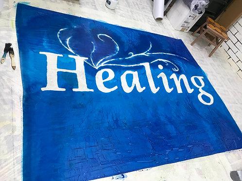 healing banner new size 36 x 50