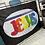 Thumbnail: Rainbow Glory Jesus - (SILK)