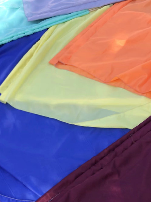 Polyester flags 35x50ish approximately