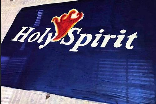 Holy Spirit proclamation silk