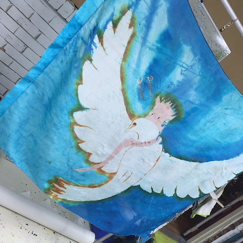 Majesty Dove, new size 36 x 50