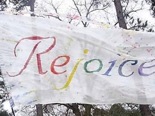 Rejoice multi colors     silk