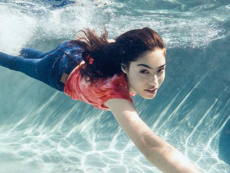 denim underwater