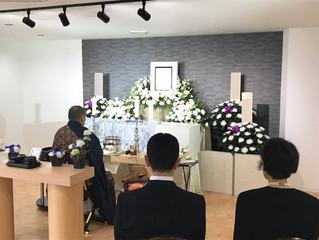 シンプルプランで一日葬を行いました。