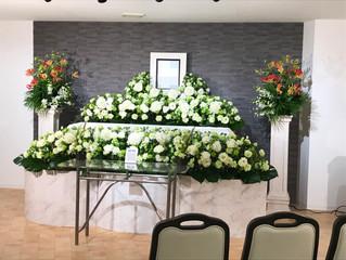 ブロンズプランで一日葬を行いました