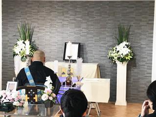 祭壇不要のお別れ葬プランで行いました