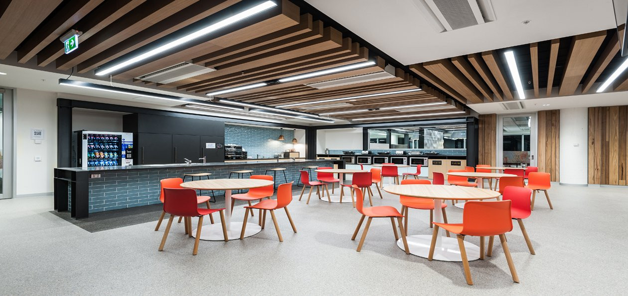 Council lunchroom, Melbourne