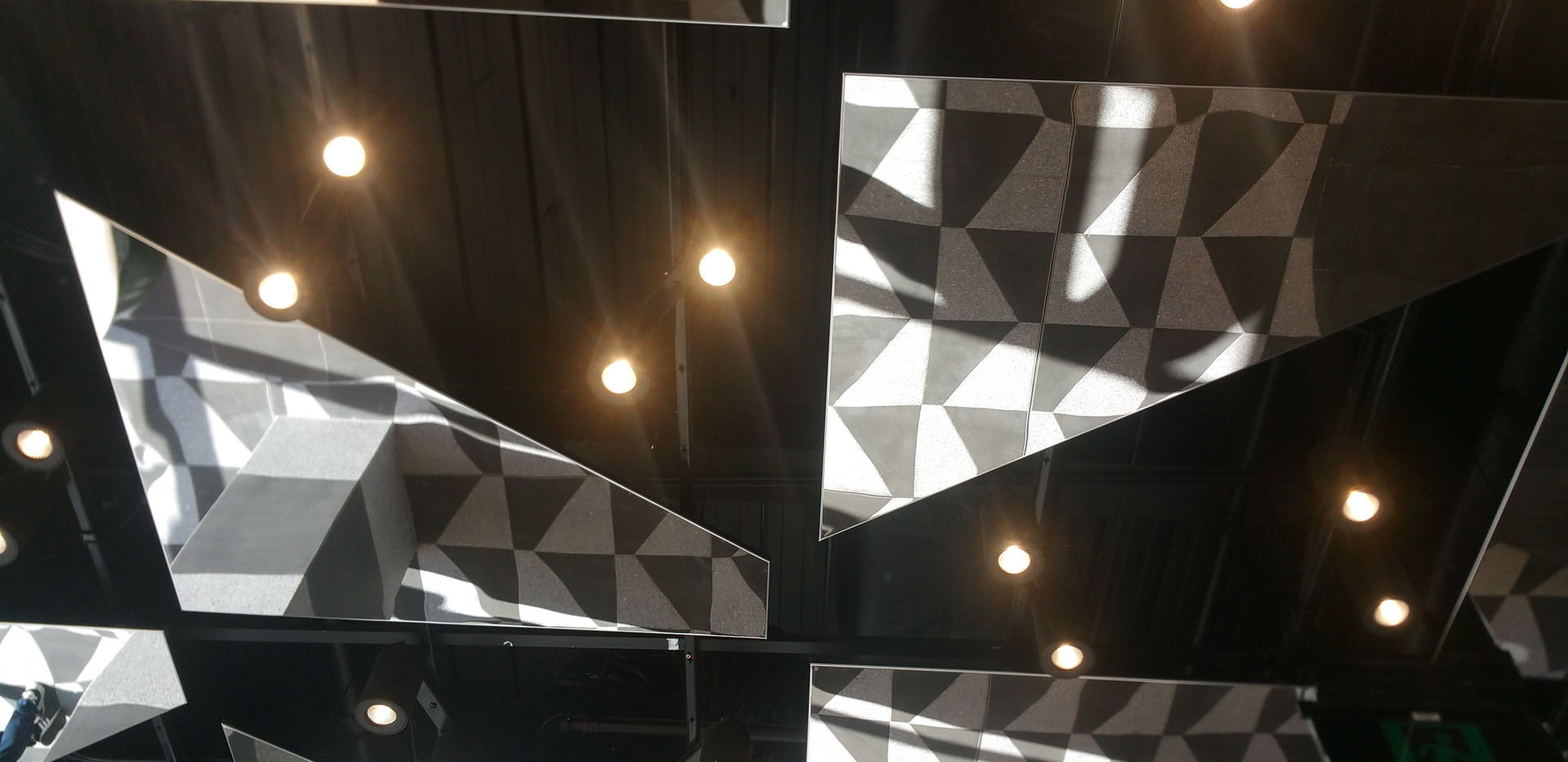 MetalScape Melbourne Central feature ceiling