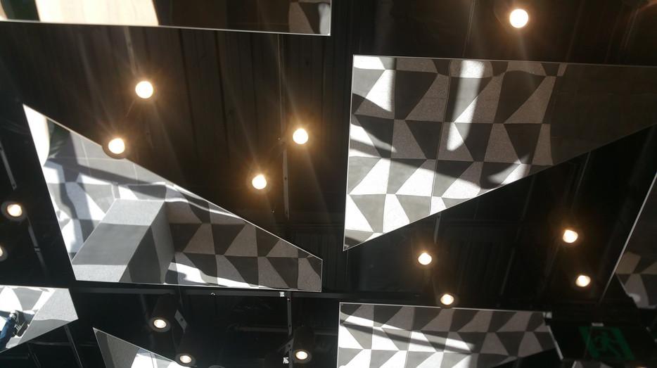 MetalScape Melbourne Central feature ceiling
