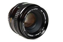 Minolta MC Rokkor PF 50mm f1.7