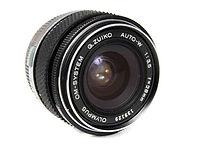 Olympus OM G Zuiko 28mm f3.5