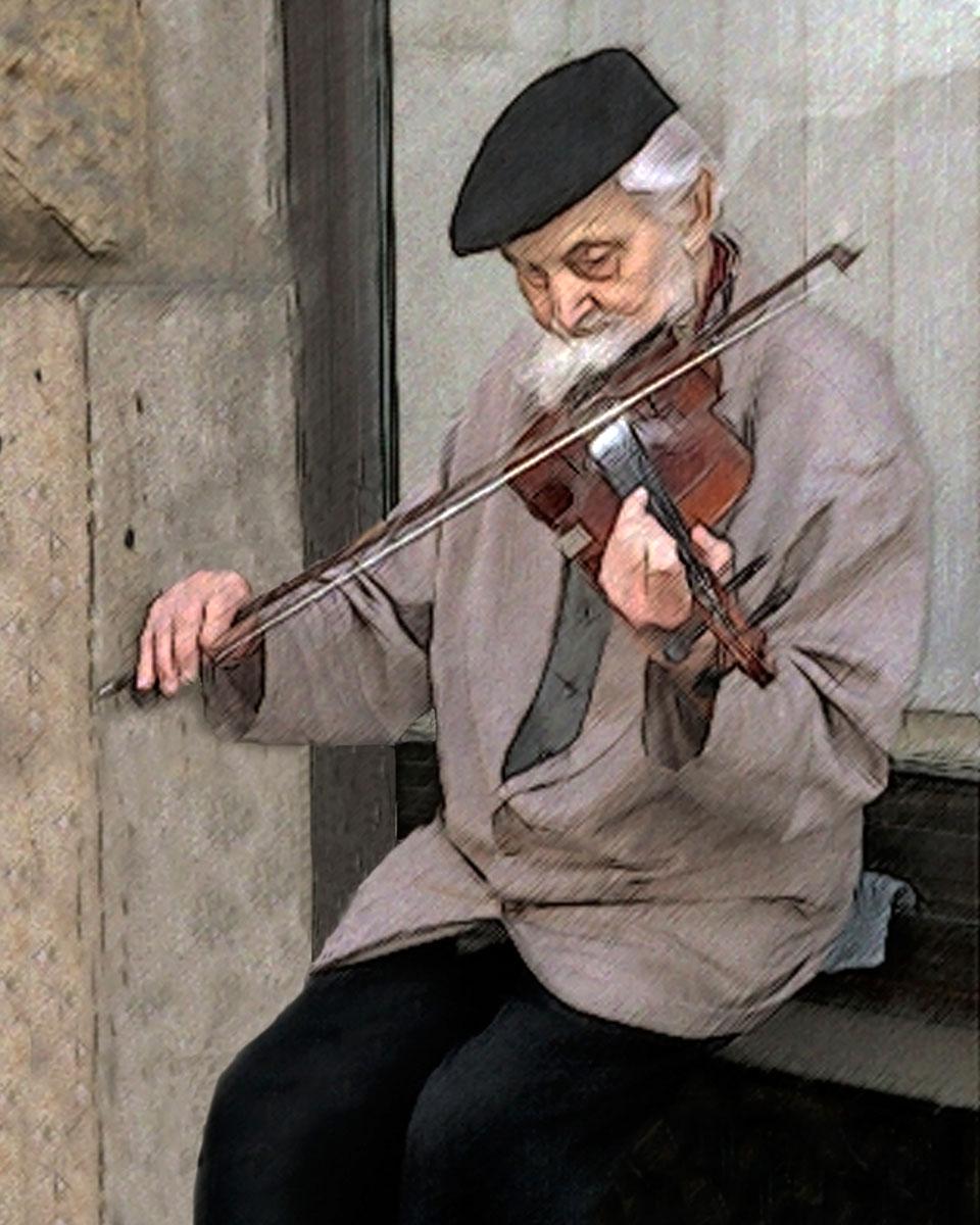 Praha Violinist