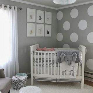 Inspiração da noite: quarto de bebê!