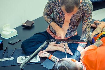Tebori Tattoo Method