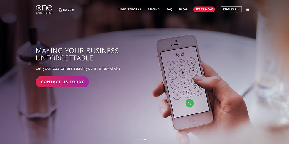 new website, design, prodction