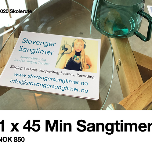 1 Sangtime (45 Min)
