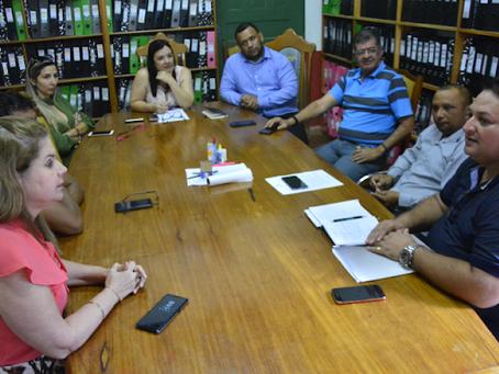 Nova mesa diretora da câmara se reúne com a prefeita Marilete Vitorino