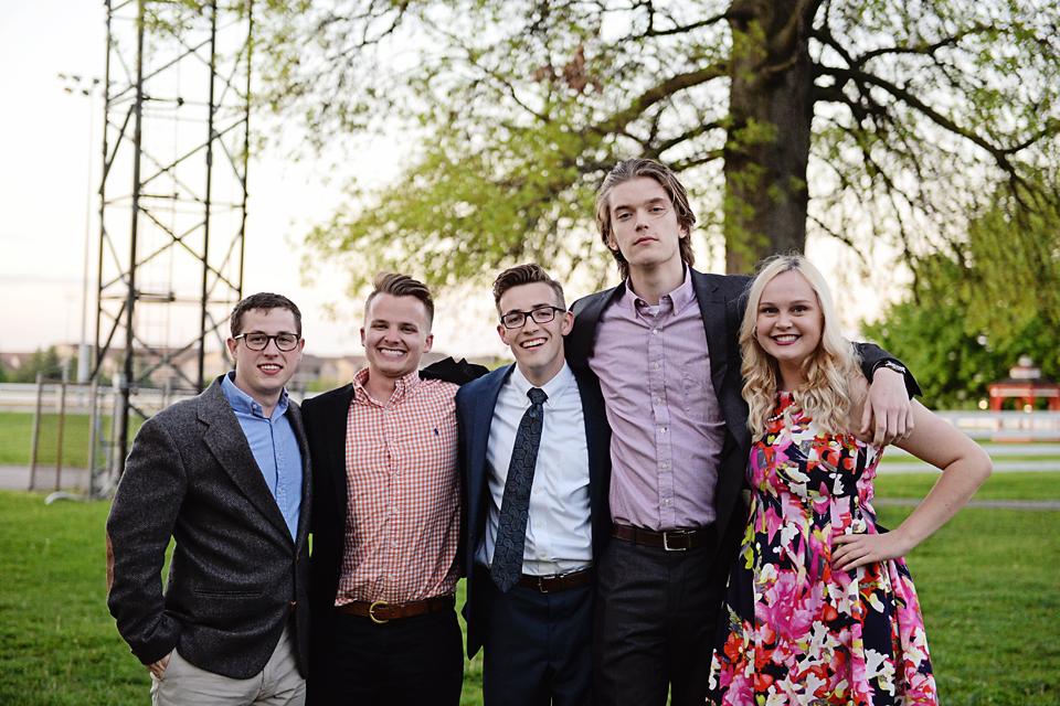 Austin, Logan, Michael, Adam, & Shae