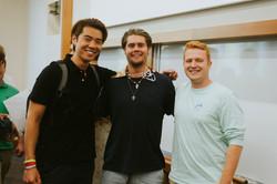 Sam, Nick, and Jake
