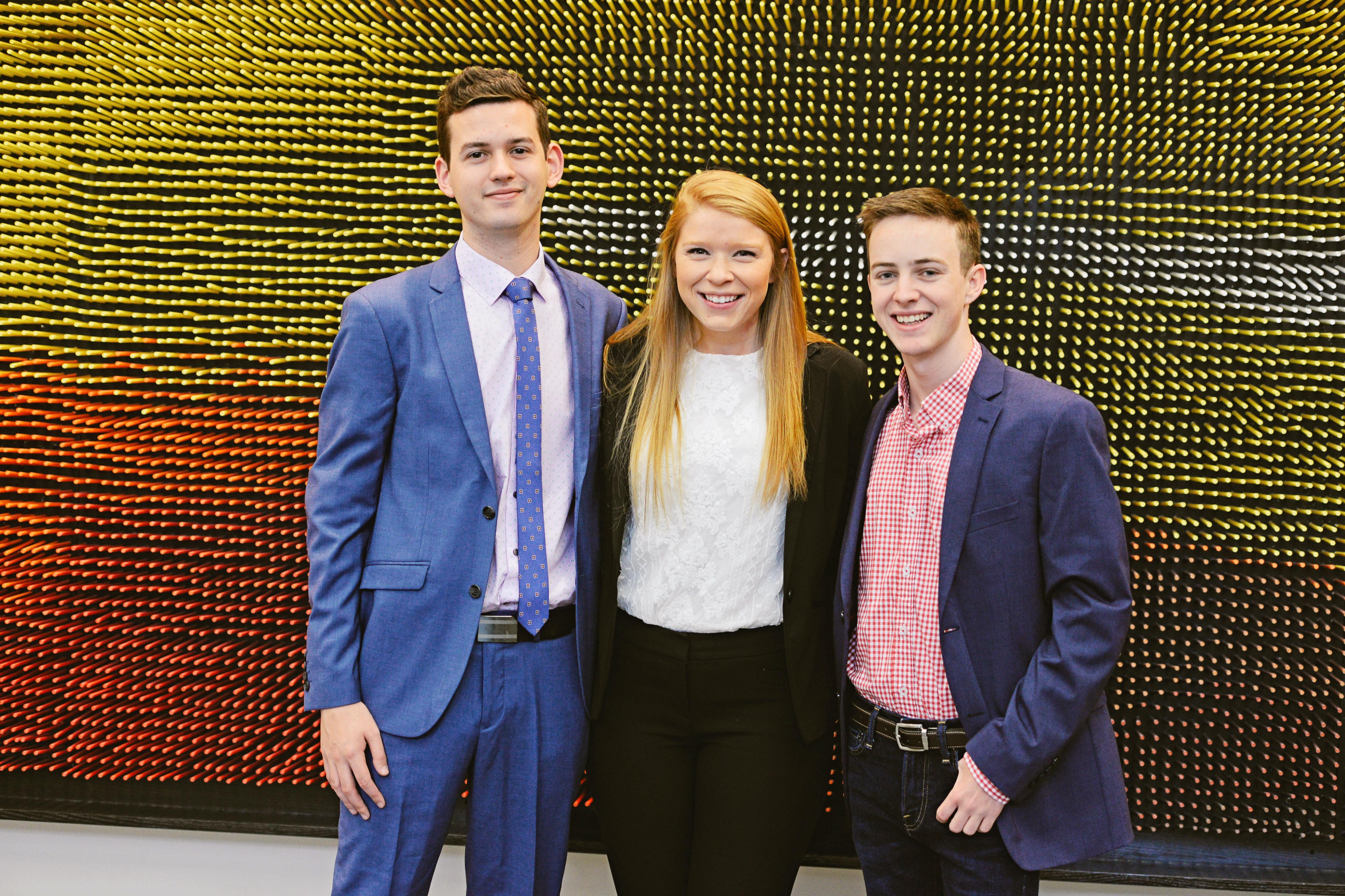 Angus, Katie, & Chad